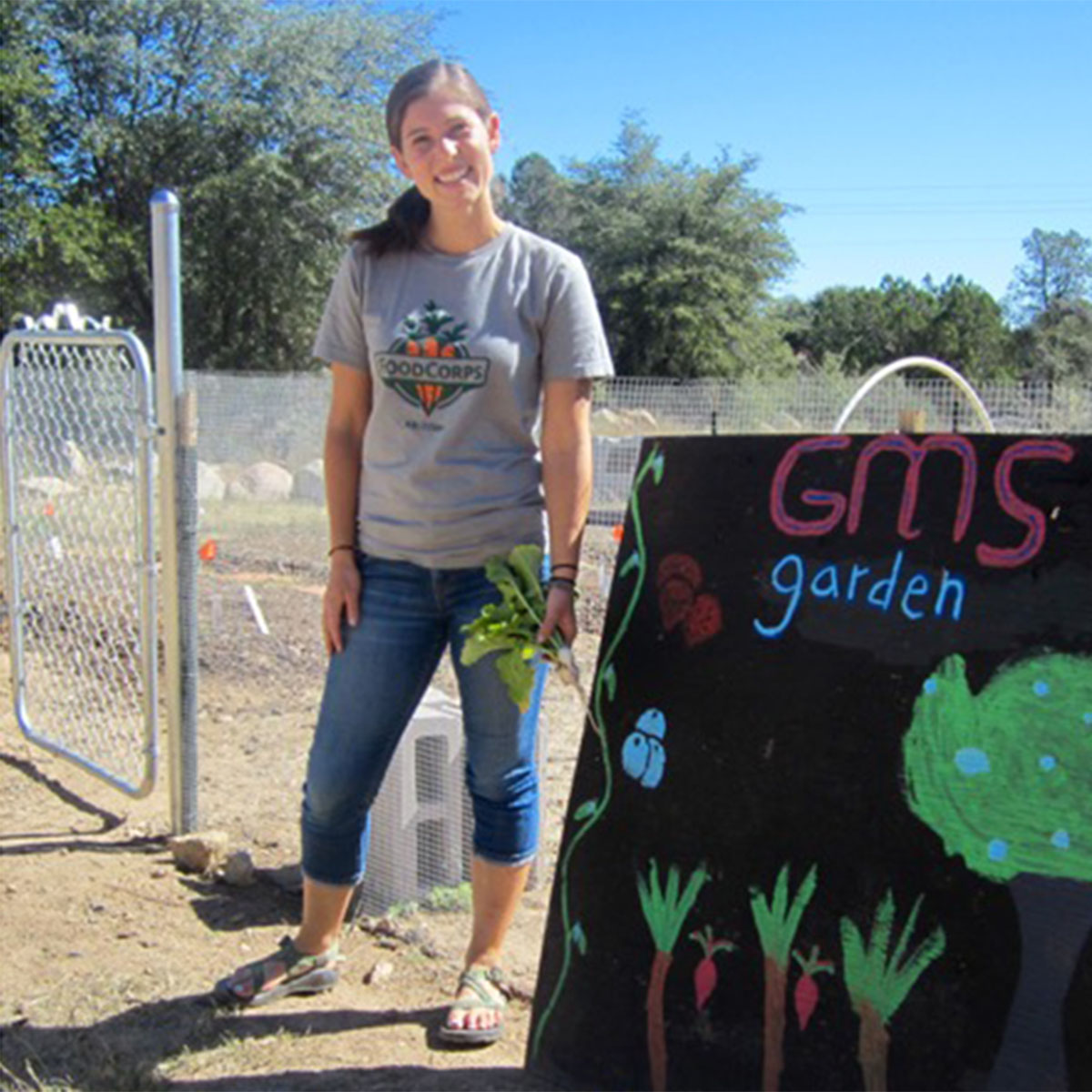 FoodCorps Connects Kids to Healthy Food in Schools