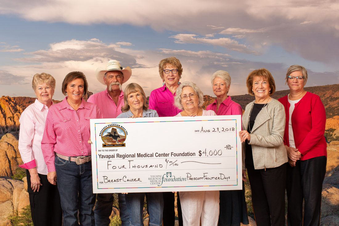 Prescott Frontier Days and YRMC: Partners for More Than Two Decades