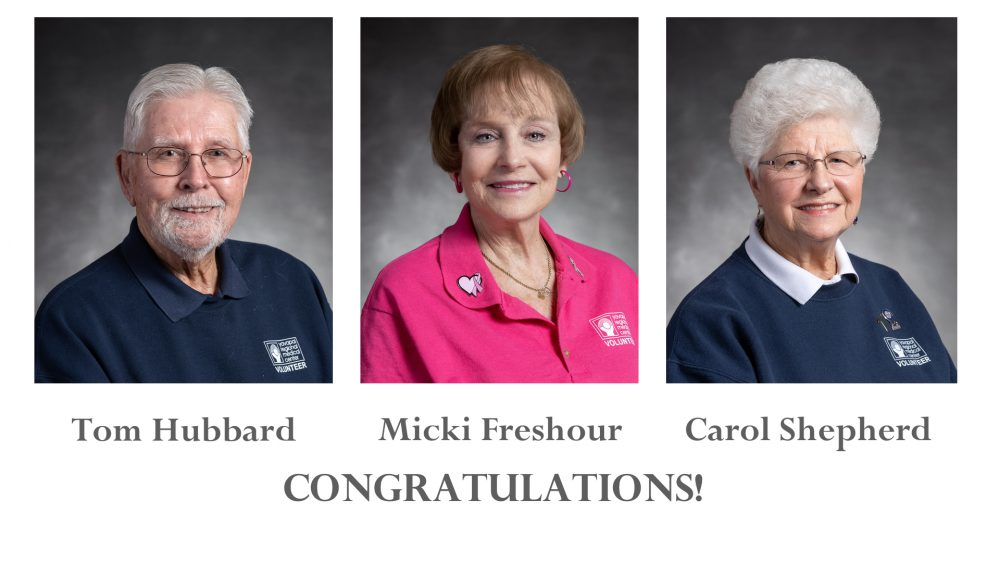 YRMC 2020 Volunteers of the Year: Service, Friendship, Family